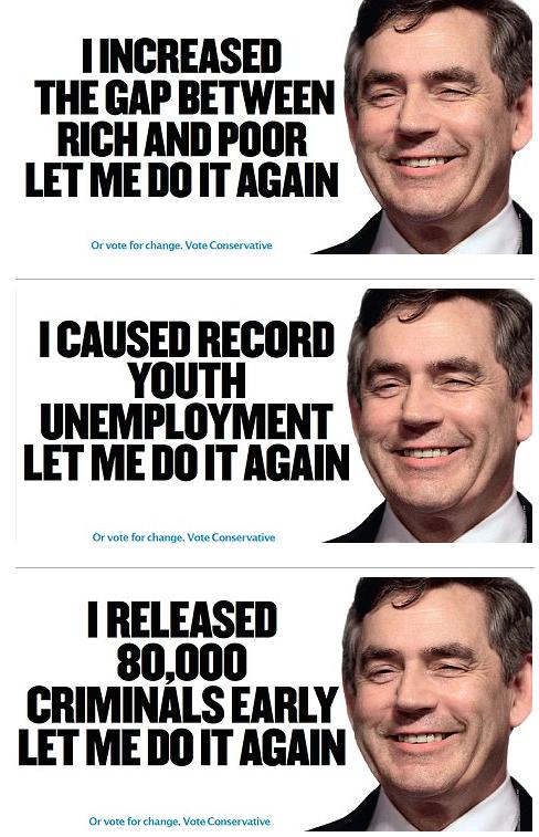 Campagna dei conservatori inglesi contro l'ex primo ministro del Partito Laburista