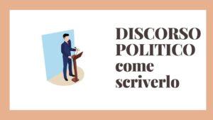 discorso politico